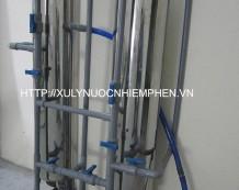 Hệ thống xử lý nước nhiễm phèn cột Inox 250