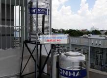Lọc nước giếng ở Đường Trần Văn Mười, Hóc Môn