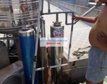 Thay vật liệu lọc nước giếng ở Thủ Đức