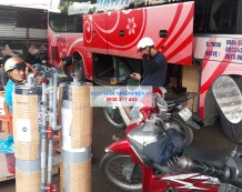 Bộ lọc giếng khoan bằng nhựa PVC đi Bình Định