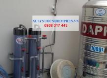 Bộ lọc nước máy ở Thị Trấn Tân Túc, Bình Chánh