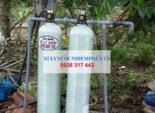 Công trình lọc nước máy ở Cần Đước, Long An