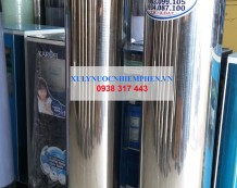 Cột lọc nước máy inox 304 van 3 ngả