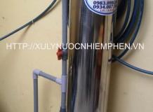 Cột lọc nước giếng Inox - TBI01S