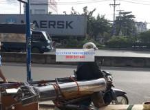 Khách hàng mua bộ xử lý nước phèn về Tây Ninh