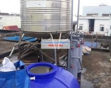 Lắp đặt bộ lọc nước giếng Đường số 20, Gò Vấp