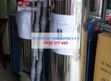 Lọc nước giếng inox 300 ở Nam Du, Kiên Giang