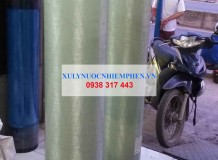 Lọc nước giếng khoan cột composite 1054 tại Ninh Thuận
