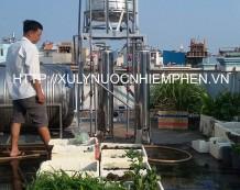 Lọc nước giếng khoan tại Ấp Chiến Lược, Bình Tân