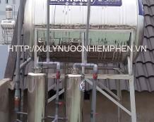 Xử lý nước nhiễm sắt ở Thới Tam Thôn 15, Hóc Môn