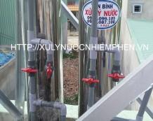 Lọc nước giếng khoan ở Thạnh Lộc, Quận 12