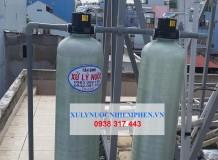 Lắp đặt bộ composite xử lý nước máy đục đen quận Tân Phú