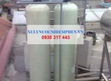 Bộ lọc nước máy nhiễm cặn vôi