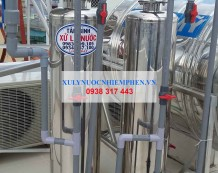 Lọc nước máy nhiều cặn ở Đường Vân Côi, Phường 7, Tân Bình