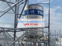 Lọc nước máy ở Đường Lạc Long Quân, Tân Bình