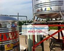 Công trình lọc nước máy ở Hiệp Tân, Tân Phú