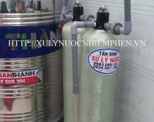 Xử lý nước máy nhiễm Mangan