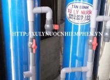 Lọc nước máy gia đình trụ lọc nhựa pvc
