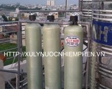 Hệ thống lọc nước nhiễm phèn 3 cột composite