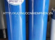 Hệ thống lọc nước nhiễm phèn cột nhựa 800L
