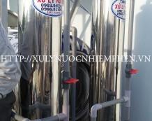 Lọc nước nhiễm phèn ở Đường Thới Hòa, Bình Chánh
