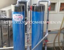 Lọc nước nhiễm phèn ở đường Út Tịch, Quận Tân Bình