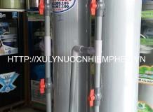 Lọc nước nhiễm phèn ở Tiền Giang