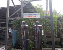 Lọc nước phèn sinh hoạt inox d300 ở Củ Chi