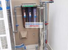 Lọc nước máy 01 cột inox tại Trịnh Quang Nghị, Bình Chánh