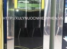 Máy lọc nước Sagana 6 lõi lọc + đèn UV + tủ kính cường lực
