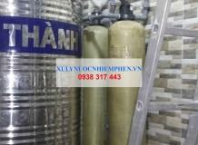 Thay lõi lọc nước máy cột composite 1054 ở Quận 6