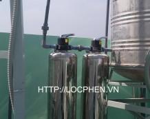 Công trình xử lý nước nhiễm phèn tại Quận 12, HCM