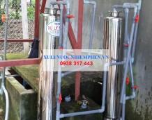 Xử lý nước giếng khoan tại Bàu Bàng, Bình Dương