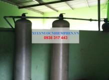 Xử lý nước giếng khoan cho nhà máy ở Củ Chi