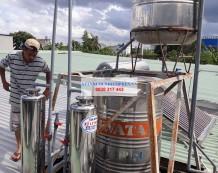 Xử lý nước giếng khoan đường Lê Lợi, Hóc Môn