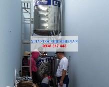 Xử lý nước giếng gần KDL Bửu Long, Đồng Nai