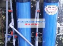 Xử lý nước giếng ở Đường Nguyễn Cửu Phú, Tân Tạo A