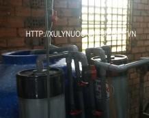 Xử lý nước giếng khoan tại đường Lê Lợi, Hóc Môn