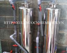 Bộ xử lý nước giếng khoan ở Tân Phú Trung, Củ Chi
