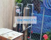 Xử lý nước giếng khoan tại Thới Tam Thôn, Hóc Môn