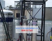Xử lý nước máy nhiễm phèn ở Lê Trọng Tấn, Tân Phú