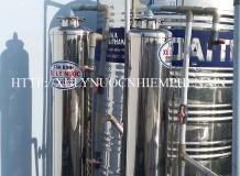 Công trình xử lý nước máy ở Phan Huy Ích, Gò Vấp
