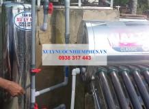Xử lý nước máy sinh hoạt 01 cột inox ở KCN Tân Phú Trung