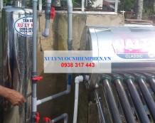 Xử lý nước máy 01 cột inox 250