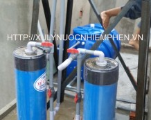 Bộ xử lý nước nhiễm phèn ở Nguyễn Tư Giản, Gò Vấp