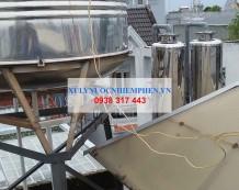 Xử lý nước nhiễm phèn ở Đường Huỳnh Văn Nghệ, Gò Vấp