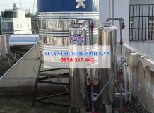 Xử lý nước nhiễm phèn tại Dương Thị Mười, Quận 12