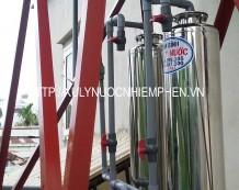 Bộ xử lý nước phèn ở Phú Thọ Hòa, Tân Phú