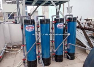Hệ thống lọc nước sinh hoạt đầu nguồn cho gia đình