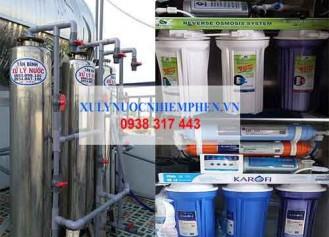 Một số lưu ý khi sử dụng thiết bị lọc nước sinh hoạt gia đình